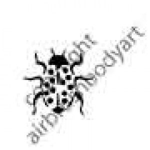 0250 ladybird reusable stencil